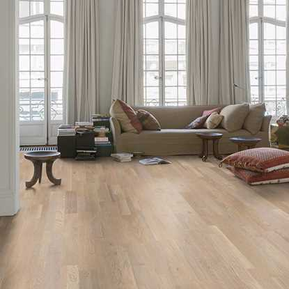 Quickstep Variano Seashell White Oak Extra Matt VAR3101S Engineered Wood Flooring