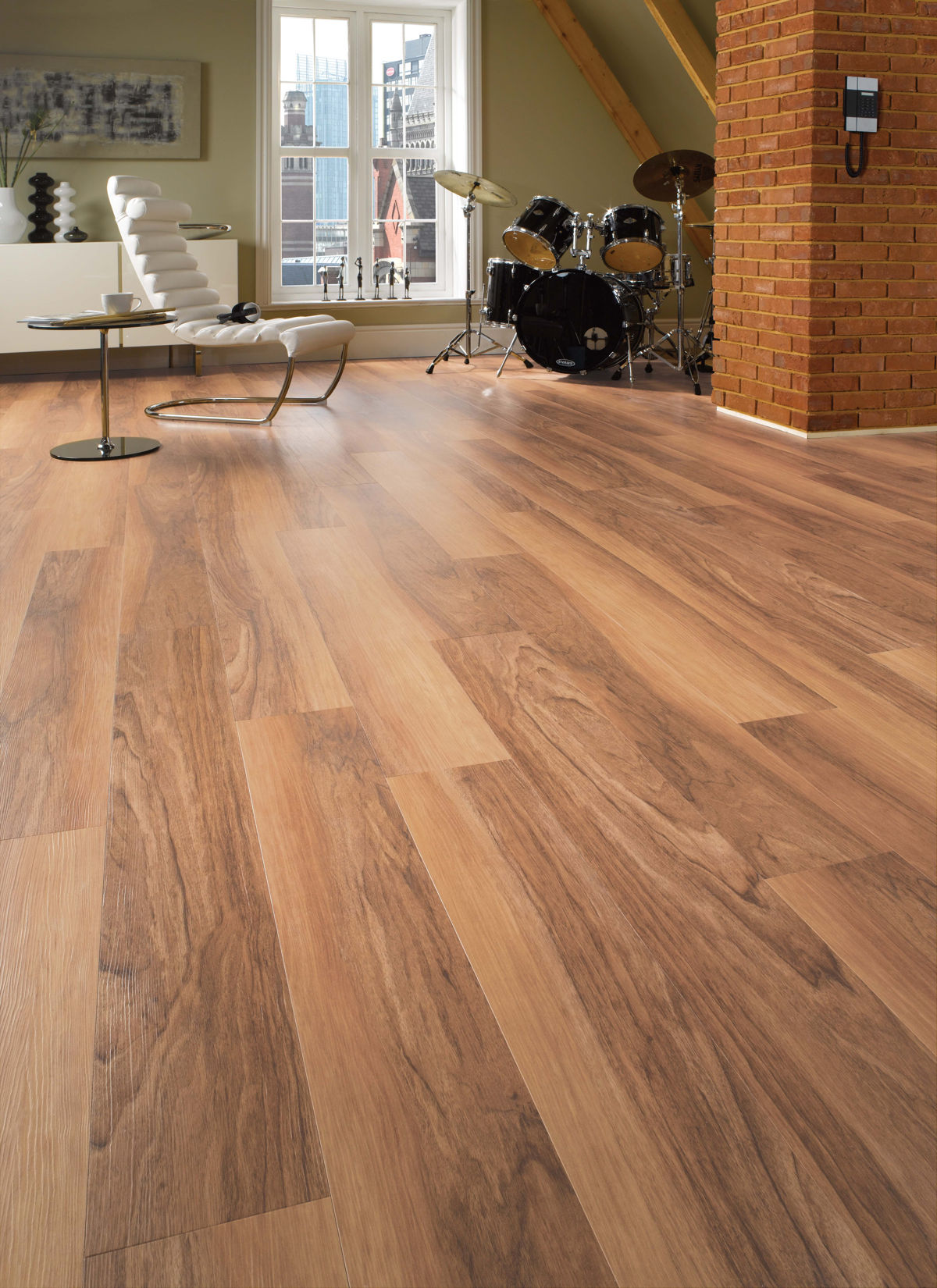 Karndean van gogh lancewood for Parquet wood flooring