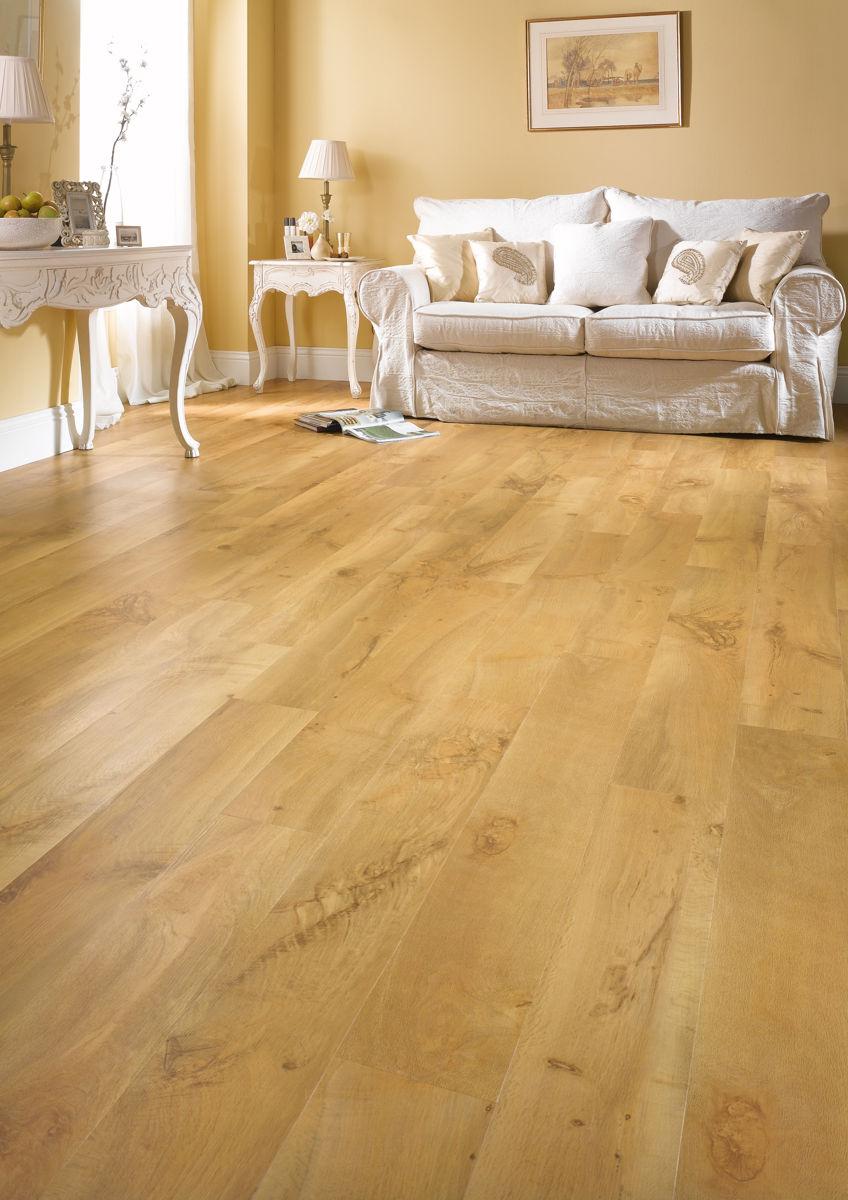 Karndean van gogh auckland oak vgw52t vinyl flooring for Vinyl carpet flooring