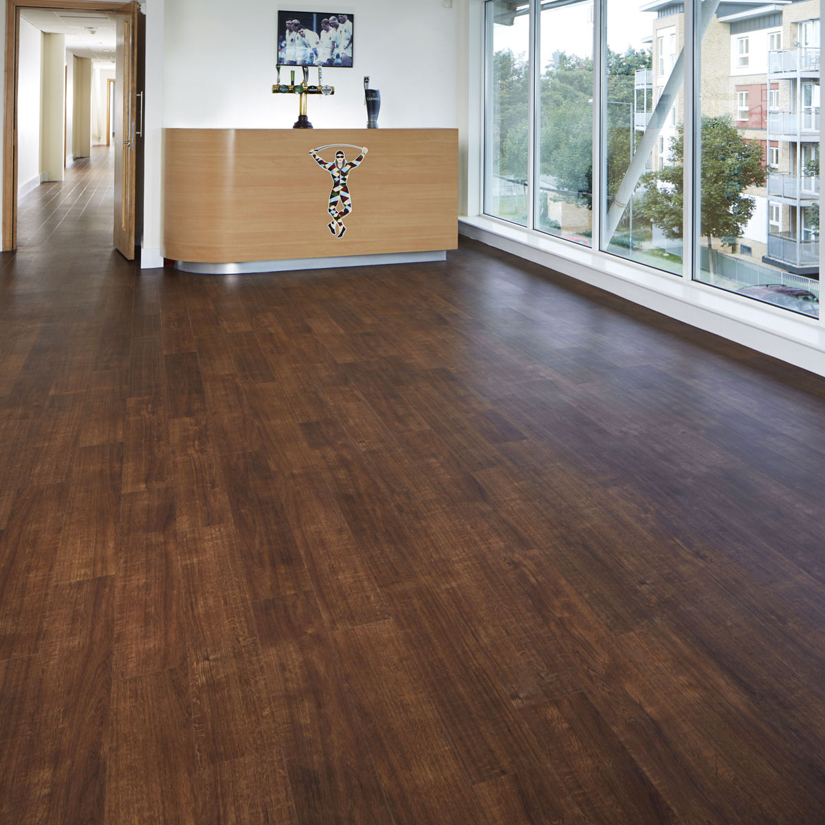 Vinyl Plank Flooring : Karndean opus rubra wp vinyl flooring