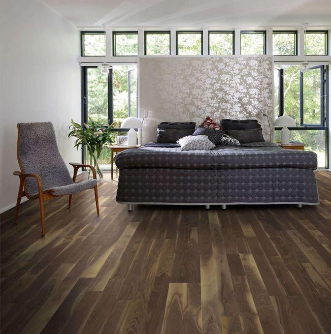 Kahrs American Walnut Georgia Engineered Wood Flooring