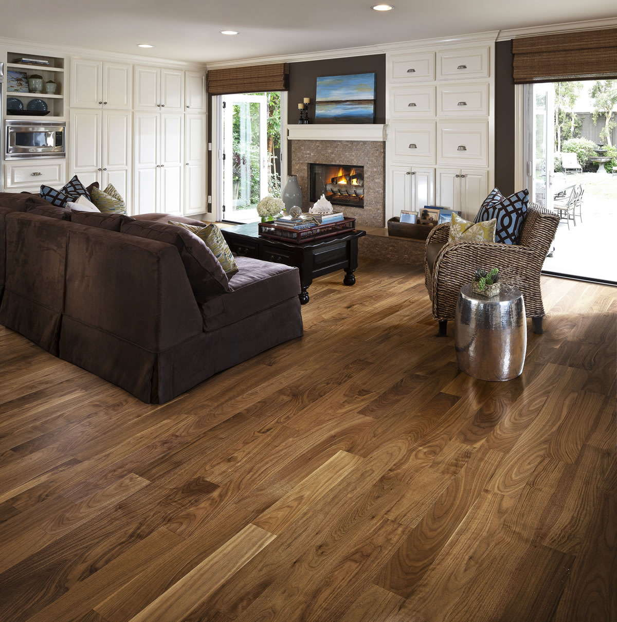 Kahrs Walnut Philadelphia Engineered Wood Flooring - Walnut Philadelphia Engineered Wood Flooring