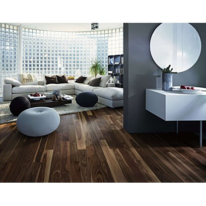 Kahrs Linnea Walnut Rain Engineered Wood Flooring