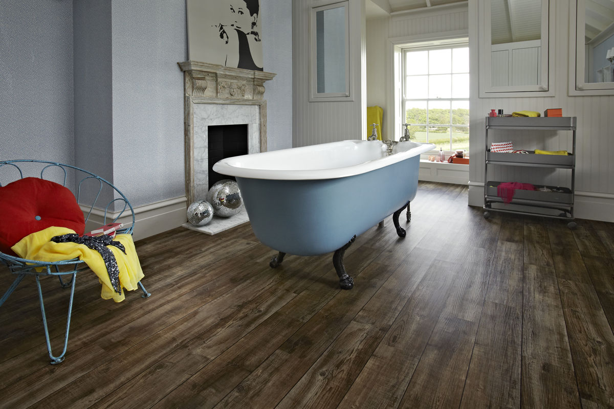 Karndean Knight Tile Mid Worn Oak KP103 Vinyl Flooring