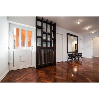 natura American Black Walnut Engineered Herringbone Parquet