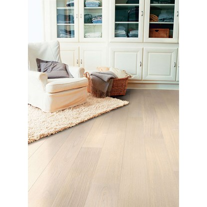 Quickstep Castello Polar Oak Satin CAS1349S Engineered Wood Flooring
