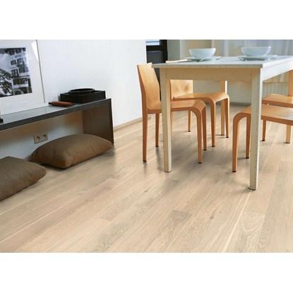 Quickstep Castello Whitewashed Oak Matt CAS1353S Engineered Wood Flooring