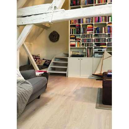 Quickstep Compact Cotton White Oak Matt COM1451 Engineered Wood Flooring