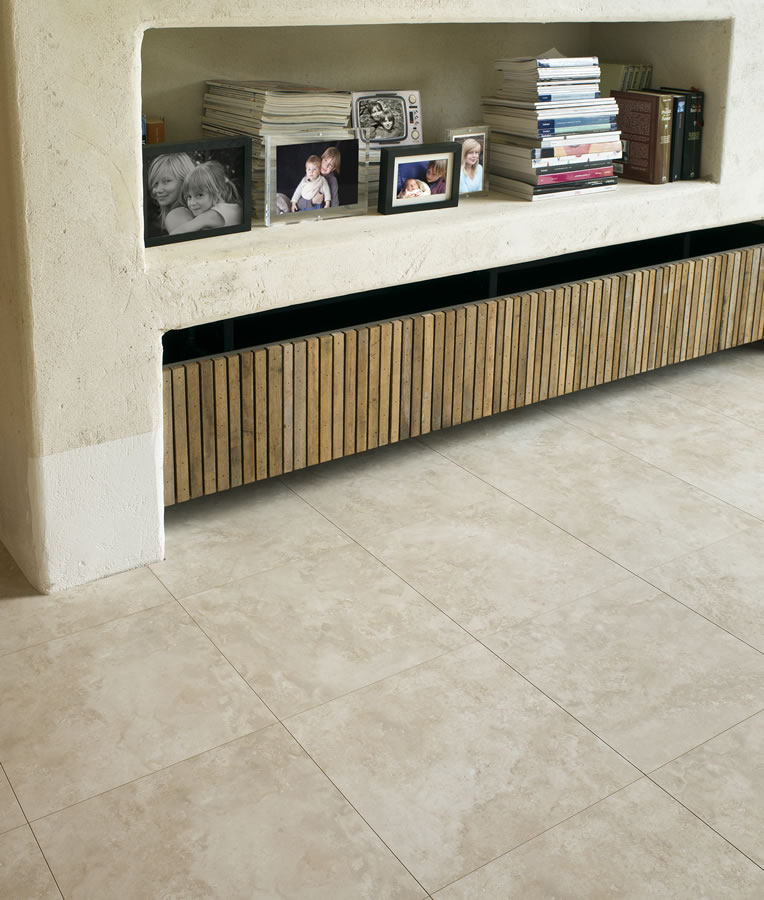 Laminate flooring travertine laminate flooring for Travertine laminate flooring
