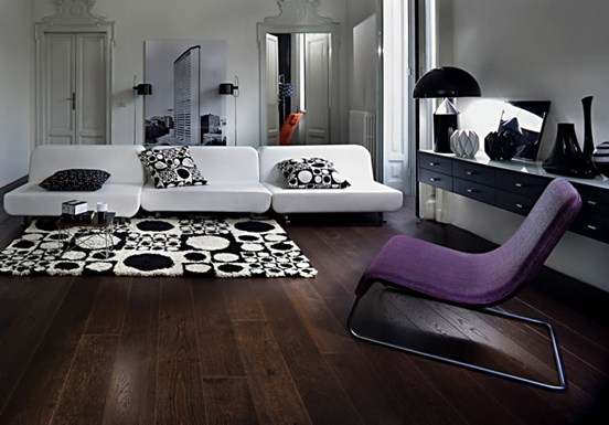 Kahrs Oak Nouveau Black Engineered Wood Flooring