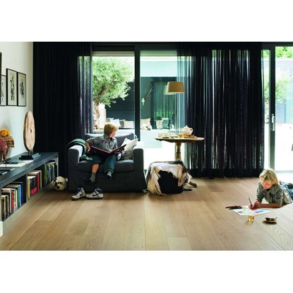 Quickstep Palazzo Pure Oak Matt PAL1341S Engineered Wood Flooring