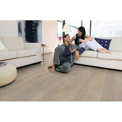 Quickstep Palazzo Limed Grey Oak Matt PAL1345S Engineered Wood Flooring