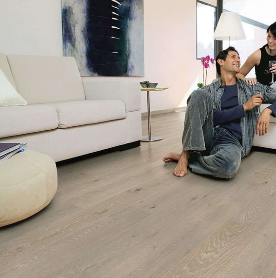 quickstep palazzo limed grey oak matt pal1345s engineered wood flooring. Black Bedroom Furniture Sets. Home Design Ideas