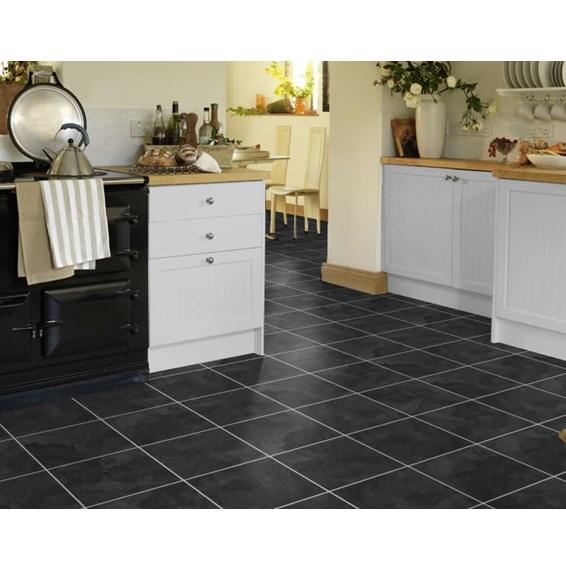 Onyx Vinyl Flooring : Karndean knight tile onyx t vinyl flooring