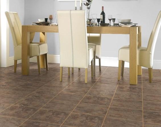 Marley tiles floor
