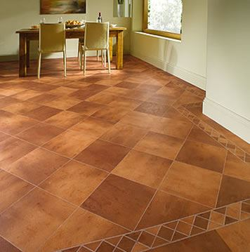 Karndean Knight Tile Fired Clay TC48 Vinyl Flooring