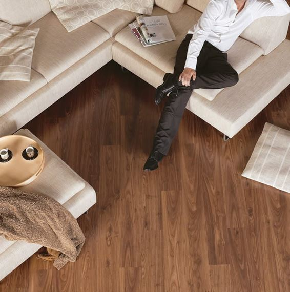 Quickstep Eligna Oiled Walnut Brown, Quickstep Walnut Laminate Flooring