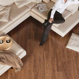 Quickstep Eligna Oiled Walnut Brown EL1043 Laminate Flooring