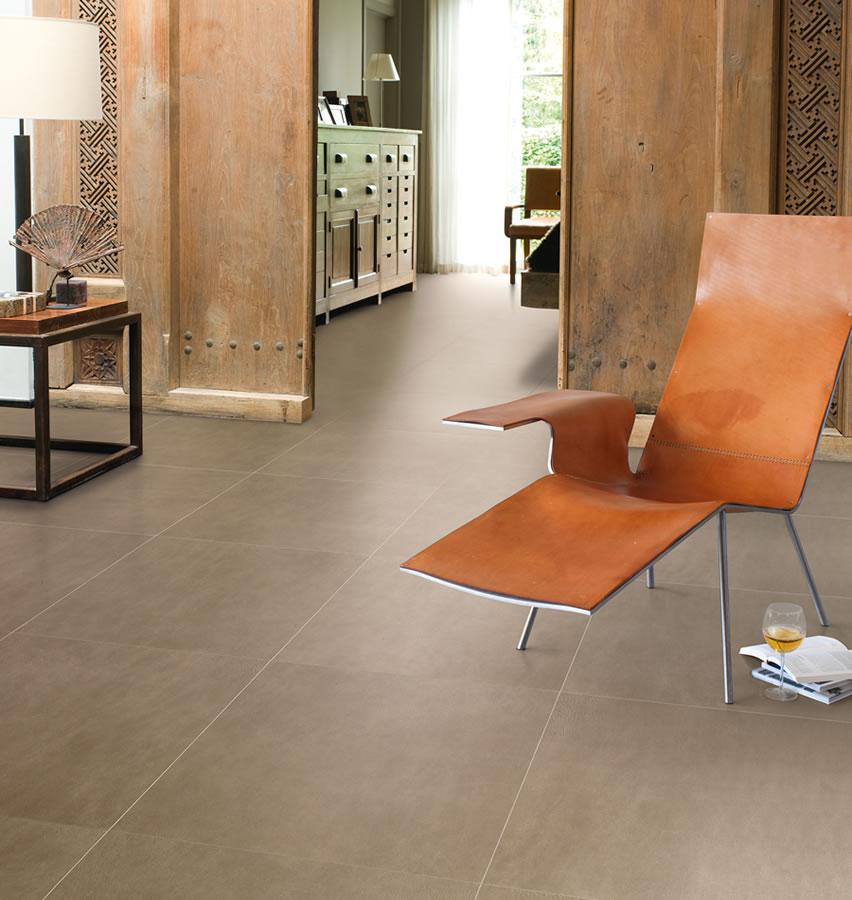 Quickstep arte leather tile dark uf1402 laminate flooring for Leather flooring
