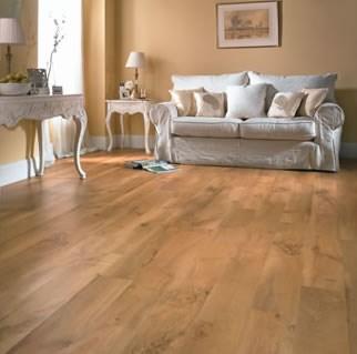 Karndean van gogh auckland oak vgw52t vinyl flooring for Oak effect vinyl floor tiles