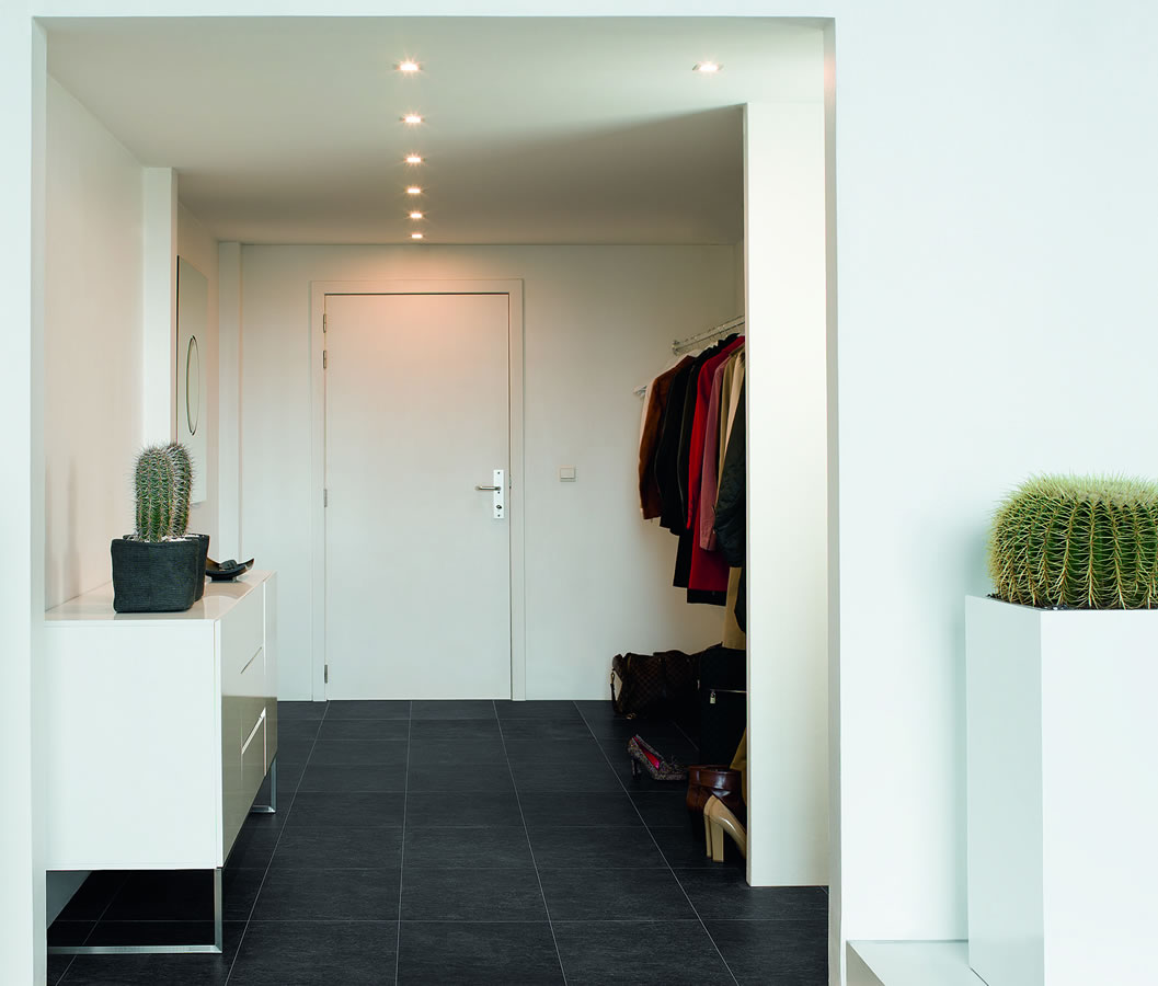 Black Laminate Flooring Reviews: Quickstep Exquisa Slate Black Galaxy EXQ1551 Laminate Flooring