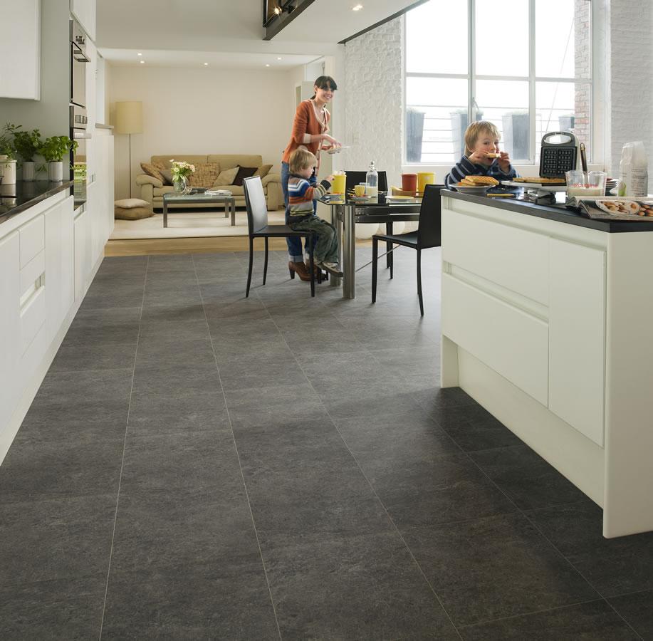 Quickstep Exquisa Slate Dark Exq1552 Laminate Flooring