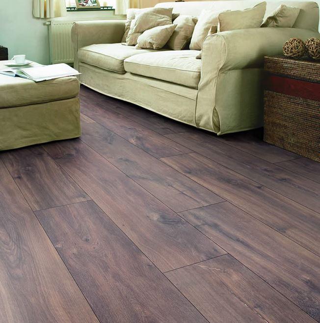 Quickstep Classic Midnight Oak Brown CLM1488 Laminate Flooring
