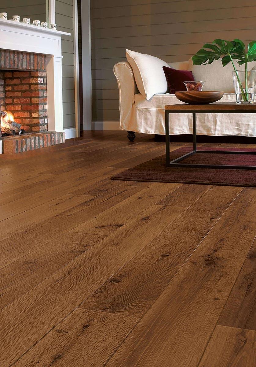 Quickstep Perspective Vintage Oak Dark Varnished Uf1001