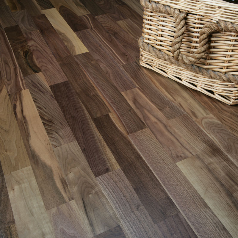 Natura american black walnut rosshill engineered wood flooring for Walnut flooring