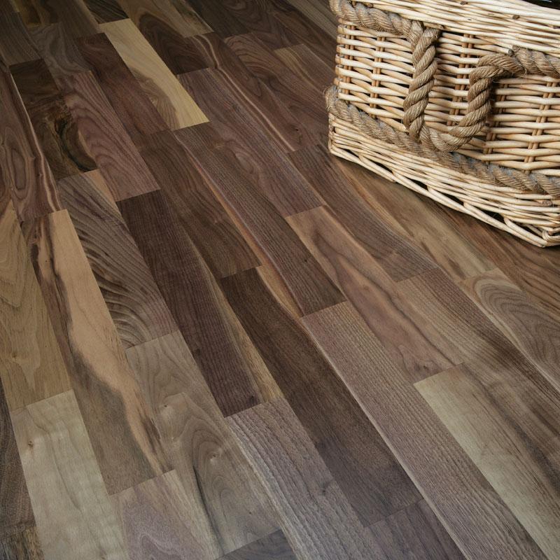 Natura american black walnut rosshill engineered wood flooring for Flooring america