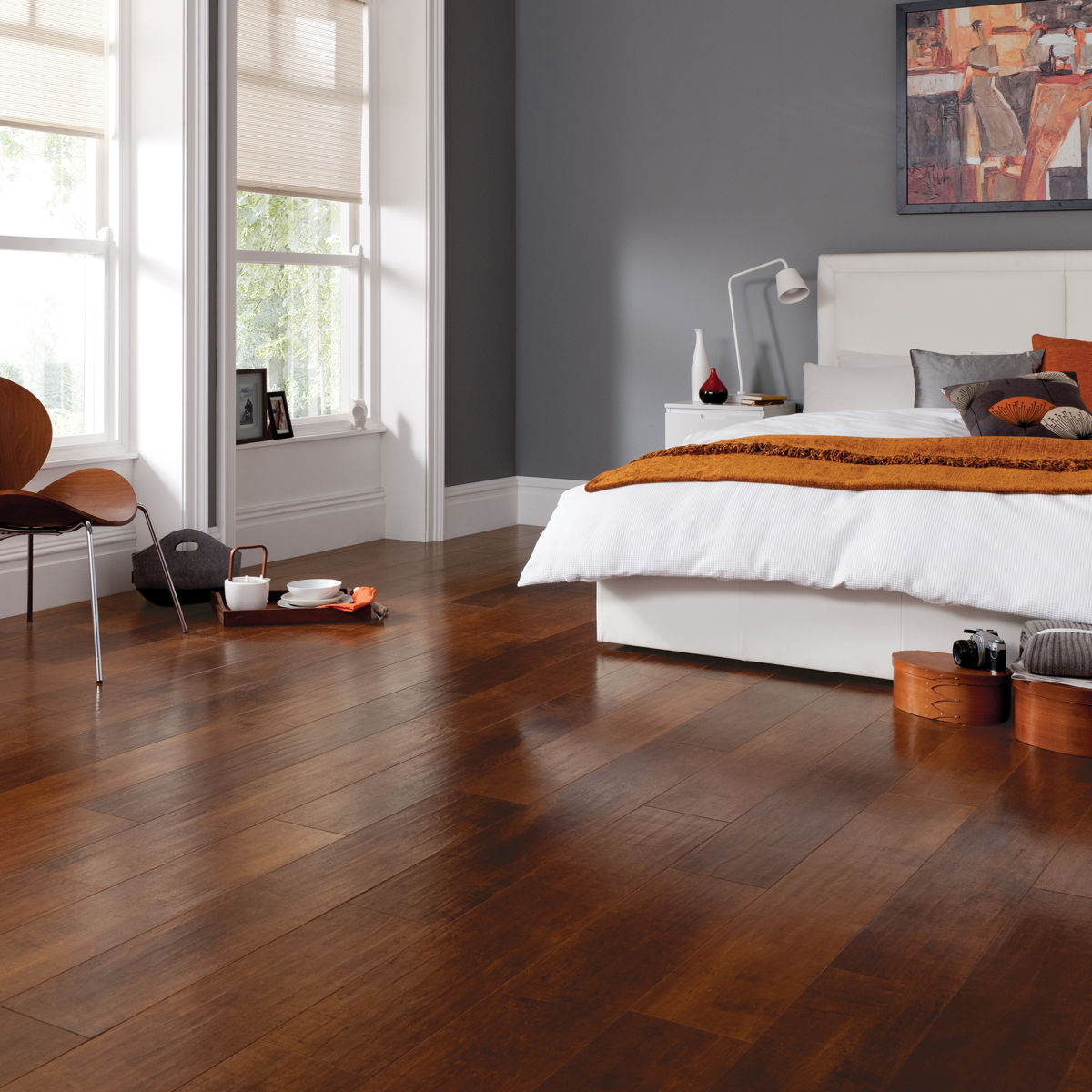 Terracotta Bedroom Designs: Karndean Art Select Santina Cherry RL07 Vinyl Flooring