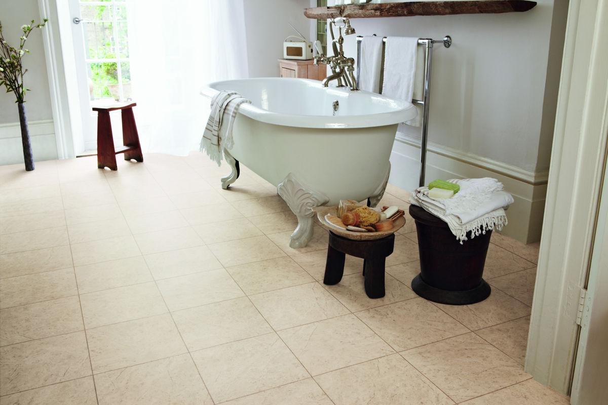 Karndean Knight Tile Bath Stone St12 Vinyl Flooring: Karndean Knight Tile Cara T98 Vinyl Flooring