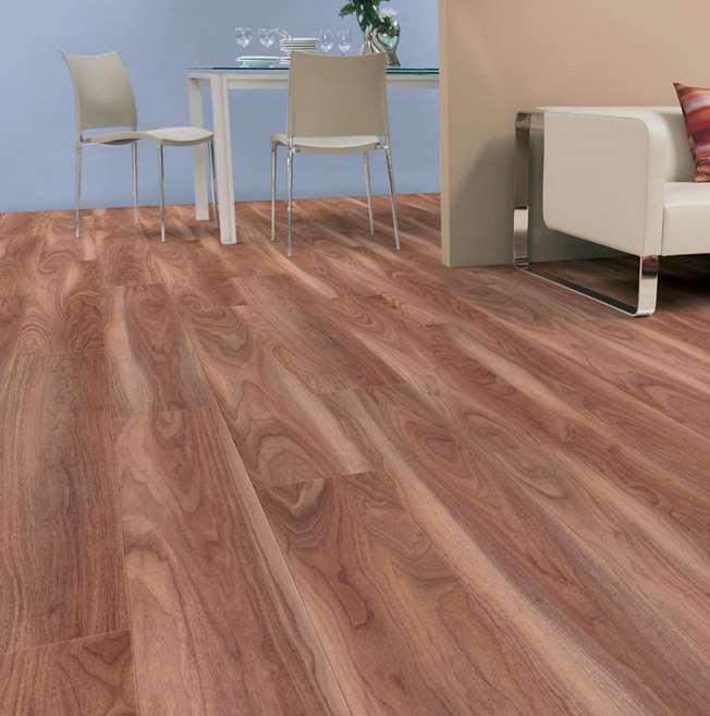 Kaindl Natural Touch Varnished Walnut Laminate Flooring