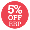 5% Off RRP