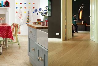 LVT vs Laminate
